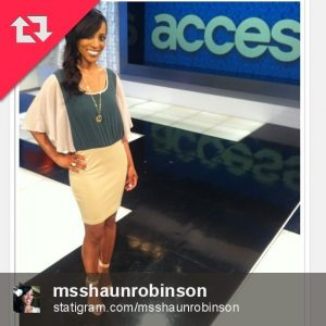 Shaun Robinson on Access Hollywood