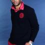 China Royal Men's V-Neck Sweater